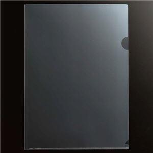 (まとめ) TANOSEE 再生クリアホルダー A4 厚口(0.3mm) クリア 1パック(50枚) 【×3セット】
