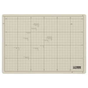 (まとめ) TANOSEE 滑りにくいカッターマット A4 225×320mm 1枚 【×5セット】