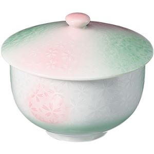 (まとめ) いちがま 平安桜蓋付煎茶 1セット(5客) 【×2セット】