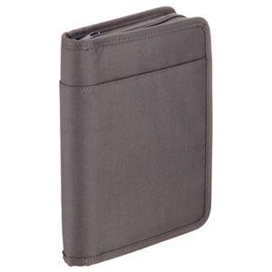 (まとめ) キングジム スキットマン 通帳&カード収納ケース A5 ダークグレー 2360 1個 【×2セット】