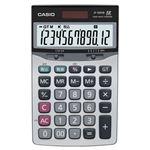 (まとめ) カシオ CASIO 本格実務電卓 12桁 ジャストサイズ JF-120VB-N 1台 【×5セット】