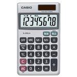 (まとめ) カシオ CASIO 電卓 8桁 手帳サイズ SL-900LA-N 1台 【×5セット】