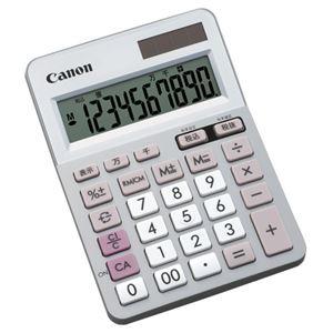 (まとめ) キヤノン Canon 電卓 LS-100TU 10桁 ミニ卓上タイプ 5625B001 1台 【×5セット】