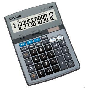 (まとめ)キヤノンCanon千万単位シリーズHS-1220TUG12桁卓上タイプ5575B0011台【×2セット】