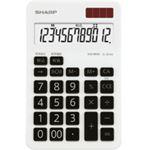 エルシーメイト電卓 12桁 ミニナイスサイズタイプ EL-BH40-X