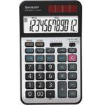 シャープ SHARP 実務電卓 12桁 ナイスサイズタイプ EL-N942-X 1台