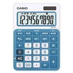 カラフル電卓 10桁 レイクブルー MW-C11A-BU-N