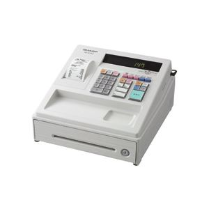 【送料無料】シャープ SHARP 電子レジスタ ホワイト XE-A147-W 1台