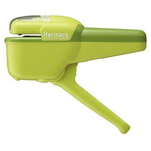 (まとめ) コクヨ 針なしステープラー(ハリナックス) ハンディタイプ 10枚とじ 緑 SLN-MSH110G 1個 【×5セット】