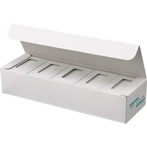 ジャストコーポレーション カラーIJ専用名刺用紙 ホワイト 厚手 IJ-8C 1セット(1000枚:100枚×10箱) 【×2セット】 h01