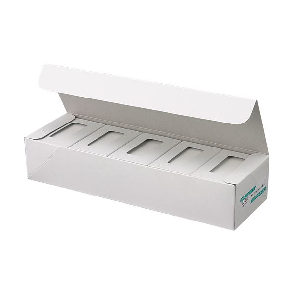 ジャストコーポレーション カラーIJ専用名刺用紙 ホワイト 厚手 IJ-8C 1セット(1000枚:100枚×10箱) 【×2セット】f00