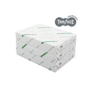 (まとめ)TANOSEE αエコグロスコート100g A4 500枚入×3冊/箱 h01
