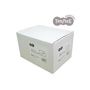 (まとめ)TANOSEE αエコグロスコート128g A4 500枚入×3冊/箱 h01