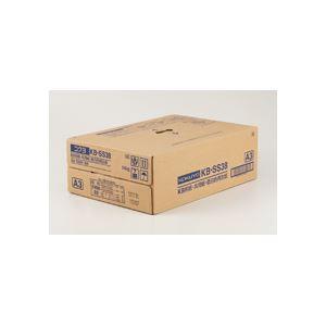 (まとめ)KB用紙(共用紙)(低白色再生紙) A3 500枚×3冊/箱 h01