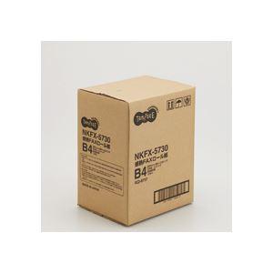 TANOSEE 感熱FAXロール紙 B4 幅257mm×長さ30m 芯内径0.5インチ 表発色 1セット(12本) 【×2セット】 h01
