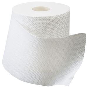 (まとめ) 日本製紙クレシア スコッティ 2倍巻き ダブル 芯あり 50m 1セット(48ロール:12ロール×4パック) 【×2セット】