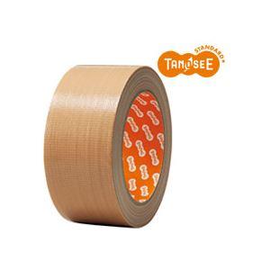 (まとめ)TANOSEE 布テープ 軽梱包用 5...の商品画像