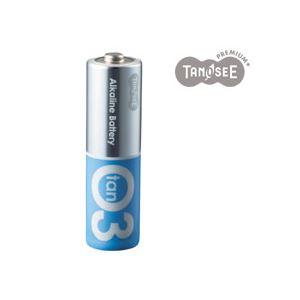 (まとめ)TANOSEE アルカリ乾電池プレミアム 単3 20本入×10箱