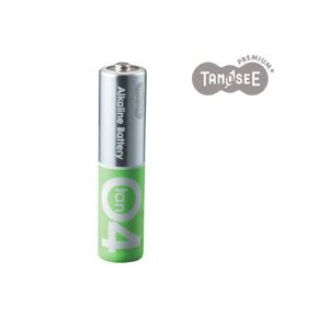 (まとめ)TANOSEEアルカリ乾電池プレミアム単420本入×10箱