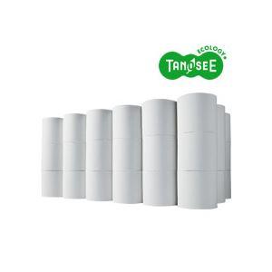 (まとめ)TANOSEE トイレットペーパー シングル 芯なし 170m 無包装 48ロール入×3ケース - 拡大画像