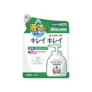 (まとめ)キレイキレイ 薬用ハンドソープ 詰替用 200ml 24個