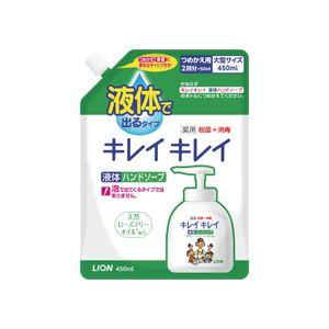(まとめ)キレイキレイ 薬用ハンドソープ 詰替用大型 450ml 16個