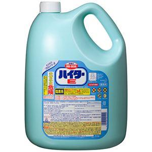 (まとめ)花王ハイターE洗濯用漂白剤業務用5kg1セット(3本)【×2セット】
