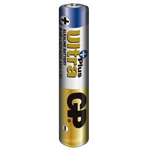 (まとめ)GPバッテリーズアルカリ電池UltraPlus単4形LR03/1.5V(4P/GP)1セット(40本:4本×10パック)【×2セット】