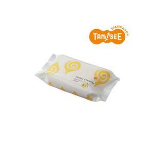(まとめ)TANOSEE流せるトイレクリーナーグレープフルーツの香り30枚入×30パック