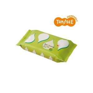 (まとめ)TANOSEEアルコール除菌ウェットティッシュ大判・厚手20枚入×30パック