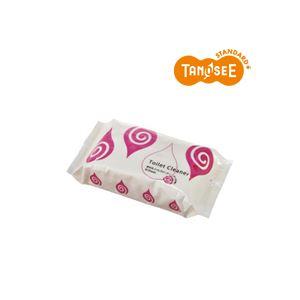 (まとめ)TANOSEE流せるトイレクリーナーローズの香り30枚入×30パック