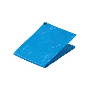 (まとめ) TANOSEE ブルーシート#1200 プラハトメ 5400×7200mm 1枚 【×3セット】