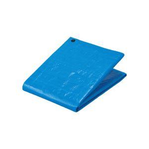 (まとめ) TANOSEE ブルーシート#3000 プラハトメ 1800×2700mm 1枚 【×5セット】