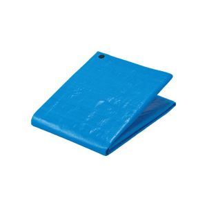 (まとめ) TANOSEE ブルーシート#3000 プラハトメ 2700×3600mm 1枚 【×4セット】