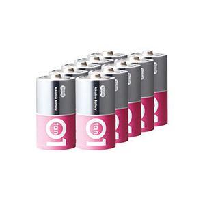 (まとめ)TANOSEEアルカリ乾電池プレミアム単1形1箱(10本)【×3セット】
