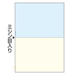 ヒサゴ マルチプリンター帳票 複写タイプ A4 ノーカーボン カラー 2面 BPC2010 1冊(100枚)