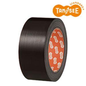 (まとめ)布テープ 50mm×25m 黒 30巻