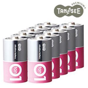 (まとめ)アルカリ乾電池プレミアム 単1 10本入×10箱