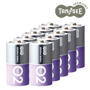 (まとめ)アルカリ乾電池プレミアム 単2 10本入×10箱