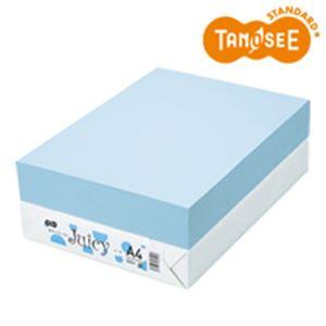 TANOSEE カラーペーパー Juicy ソーダ A4 500枚 h01