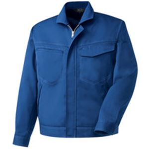 長袖ブルゾン 制電ソフトツイル ブルー Sサイズ h01