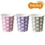 (まとめ)TANOSEE 紙コップ Snowflake 154ml 100個入×30パック