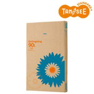 (まとめ)TANOSEE ゴミ袋 半透明 90L 110枚入×3箱