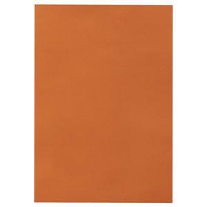 (まとめ) TANOSEE 色画用紙 八つ切 ちゃいろ 1パック(10枚) 【×30セット】