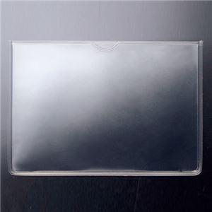 (まとめ) TANOSEE ソフトカードケース A7 1枚 【×50セット】