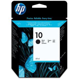 (まとめ)HP10インクカートリッジ黒69ml顔料系C4844A1個【×3セット】