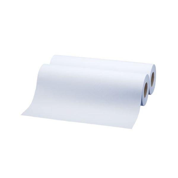 TANOSEE LED・PPC広幅用普通紙ロール SNOW WHITE A2(420mm×200m) 3インチ紙管・素巻き 1箱(2本) 【×2セット】f00