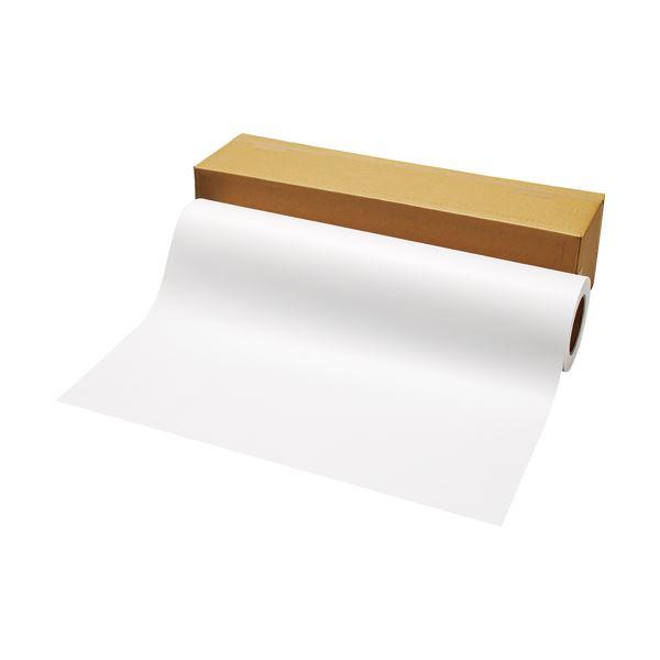 TANOSEE PPC・LEDプロッタ用普通紙ロール A1(594mm×100m) 3インチ紙管素巻き 1本 【×2セット】f00