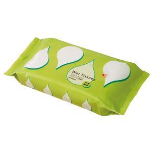 (まとめ) TANOSEE アルコール除菌ウェットティッシュ 大判・厚手タイプ 1パック(20枚) 【×15セット】