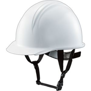 (まとめ) TANOSEE ヘルメット つば(雨溝)付 1個 【×2セット】 - 拡大画像